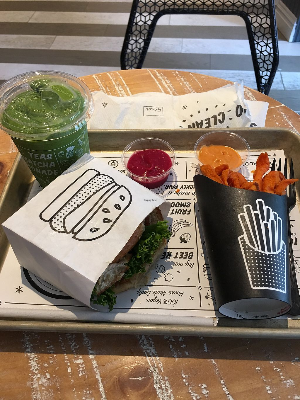 """Photo of By Chloe - Soho  by <a href=""""/members/profile/Rucri"""">Rucri</a> <br/>An all American lunch but healthier! <br/> August 11, 2017  - <a href='/contact/abuse/image/88571/291513'>Report</a>"""