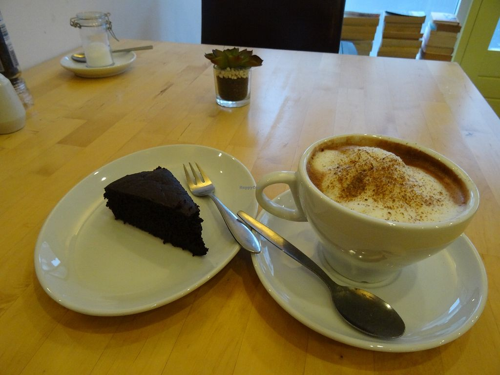"""Photo of Begin V   by <a href=""""/members/profile/CiaraRooney"""">CiaraRooney</a> <br/>Chocolate and beetroot cake with hot chocolate <br/> December 29, 2017  - <a href='/contact/abuse/image/88592/340595'>Report</a>"""