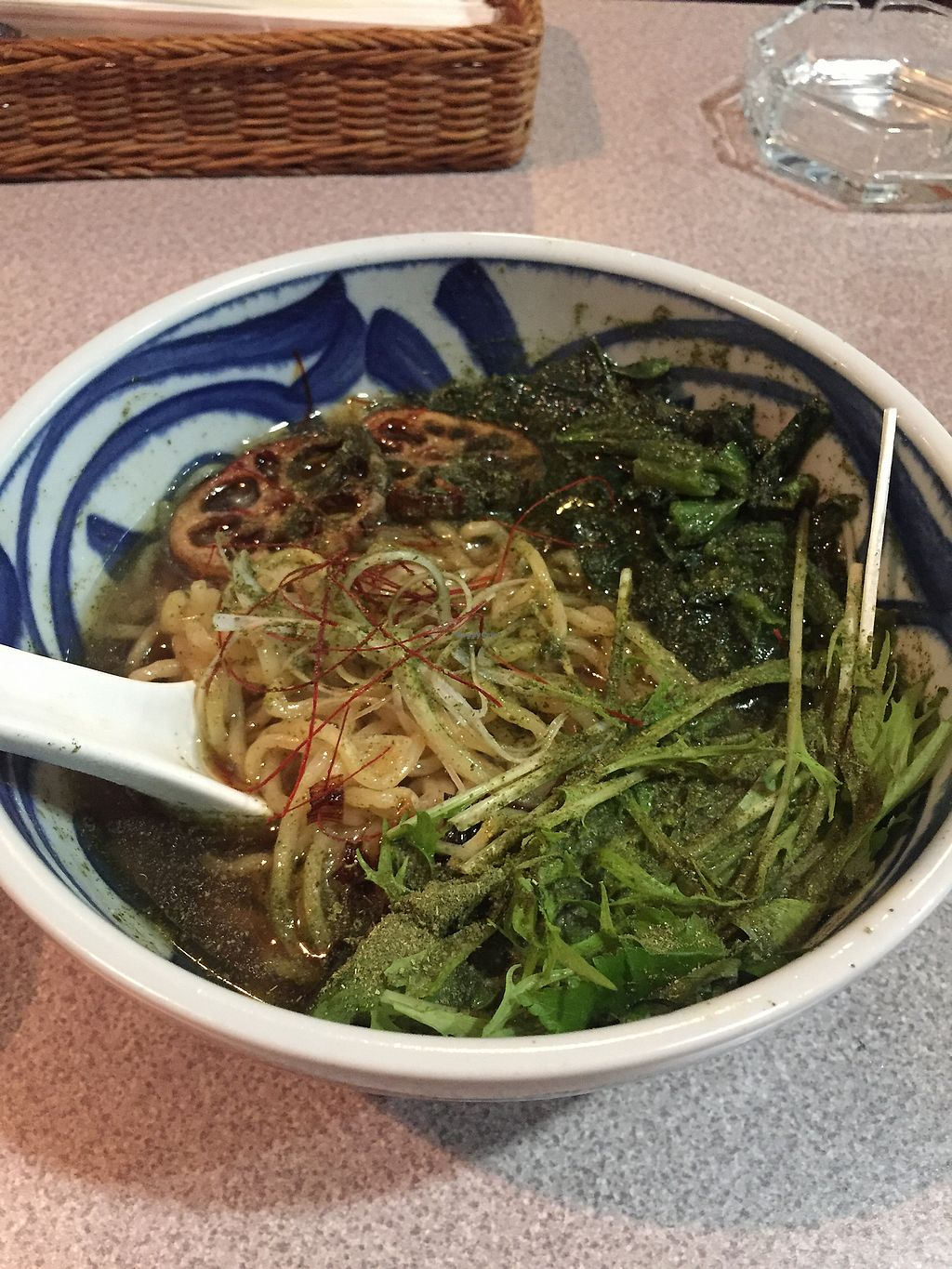 """Photo of Khana  by <a href=""""/members/profile/veggiefoodie"""">veggiefoodie</a> <br/>vegan ramen <br/> January 4, 2018  - <a href='/contact/abuse/image/88596/342856'>Report</a>"""