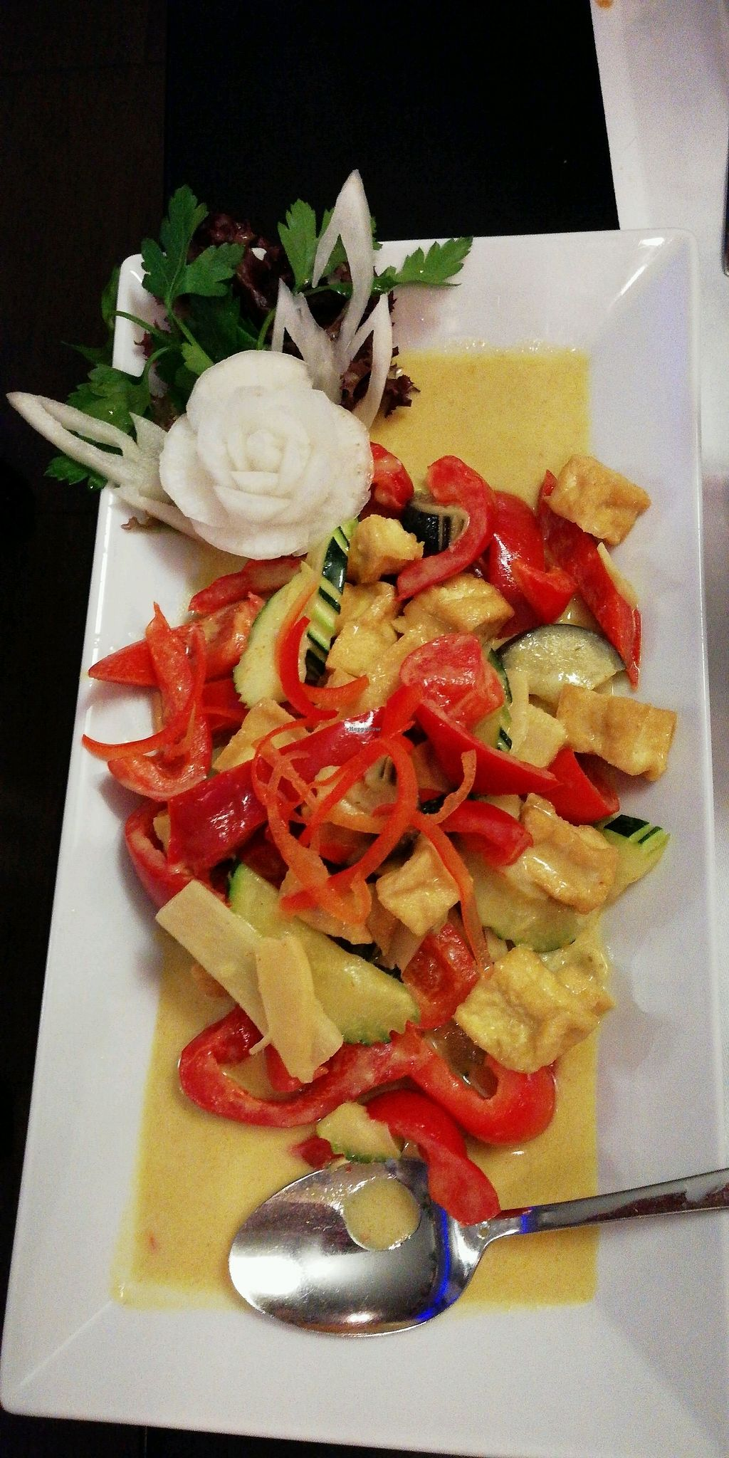 """Photo of Thai Royal  by <a href=""""/members/profile/YvonneS"""">YvonneS</a> <br/>very delightful green tofu curry <br/> December 2, 2017  - <a href='/contact/abuse/image/88615/331375'>Report</a>"""