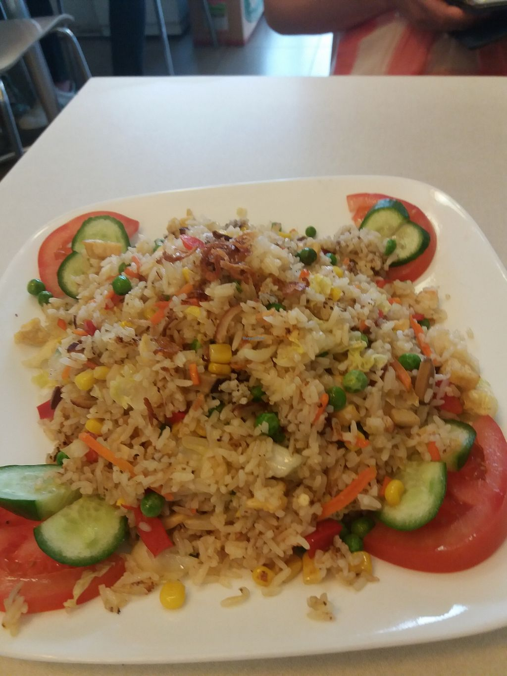 """Photo of Loving Lien  by <a href=""""/members/profile/veganvirtues"""">veganvirtues</a> <br/>Combination veggies and rice <br/> October 27, 2017  - <a href='/contact/abuse/image/88632/319155'>Report</a>"""