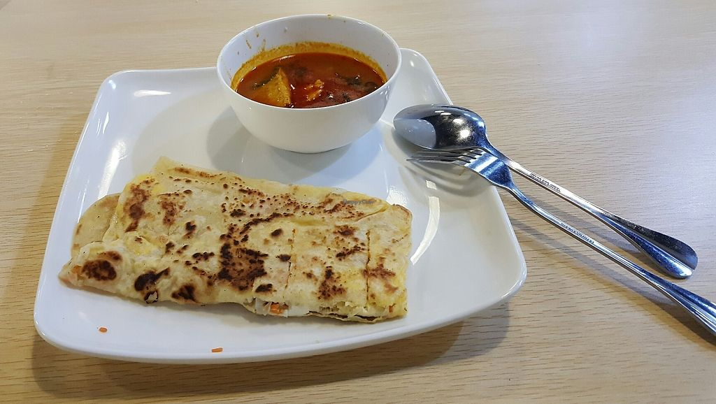 """Photo of Veggie World - Bandar Kinrara  by <a href=""""/members/profile/JamesNG"""">JamesNG</a> <br/>ROTI. PERATHA <br/> June 10, 2017  - <a href='/contact/abuse/image/88655/267731'>Report</a>"""