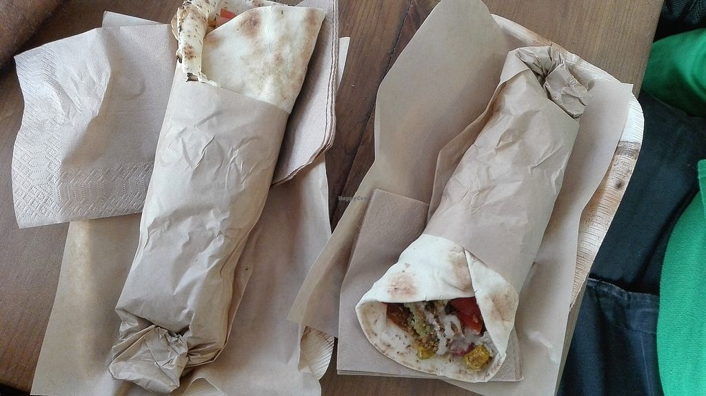 """Photo of The Chickpea  by <a href=""""/members/profile/TytoAlba"""">TytoAlba</a> <br/>Falafel in compostable package <br/> February 14, 2018  - <a href='/contact/abuse/image/88689/359361'>Report</a>"""