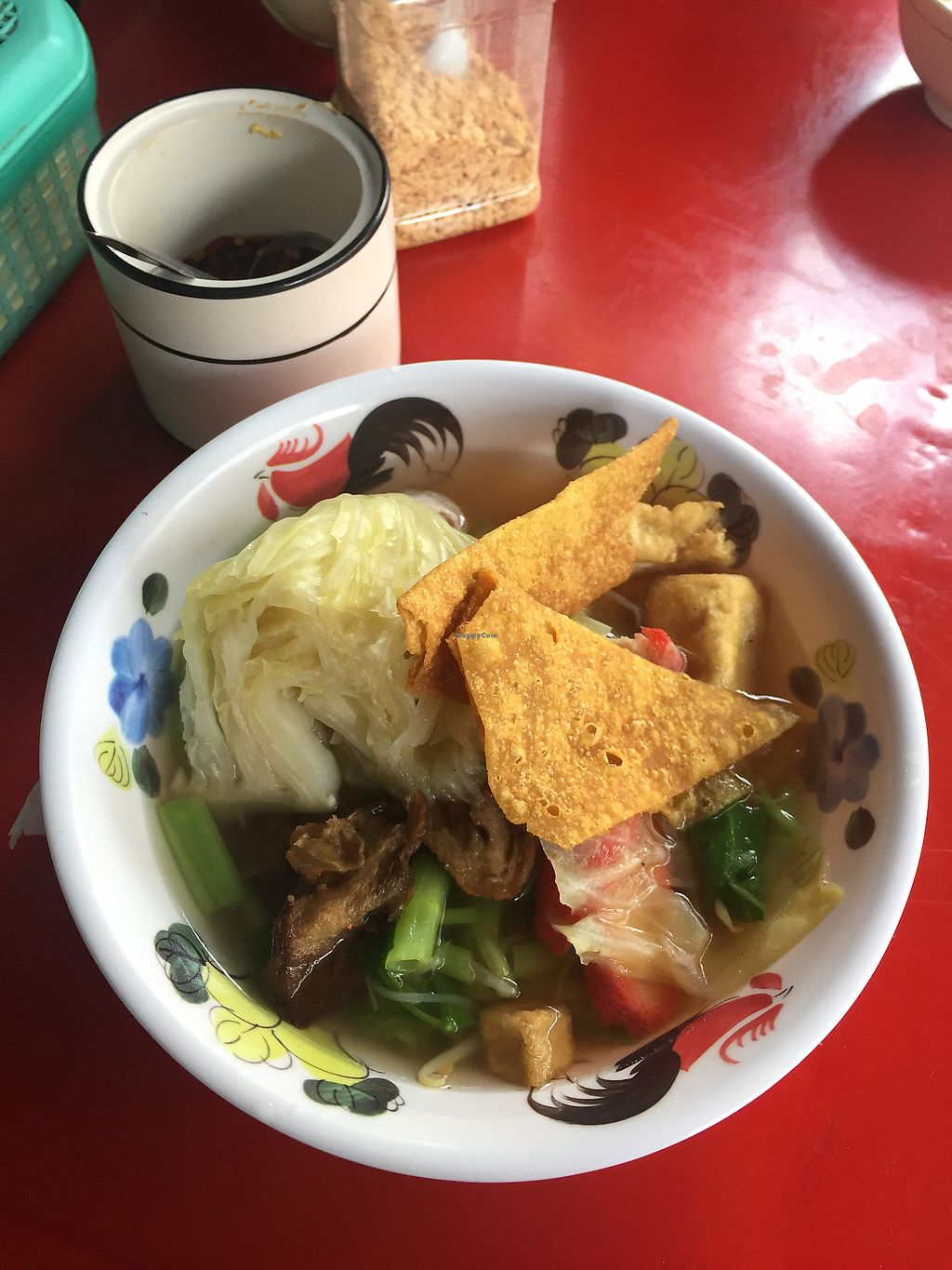 """Photo of Pan Road - Vegan Food Cart  by <a href=""""/members/profile/Bobozmom"""">Bobozmom</a> <br/>another day another bowl of noodle soup <br/> May 20, 2017  - <a href='/contact/abuse/image/88695/260543'>Report</a>"""