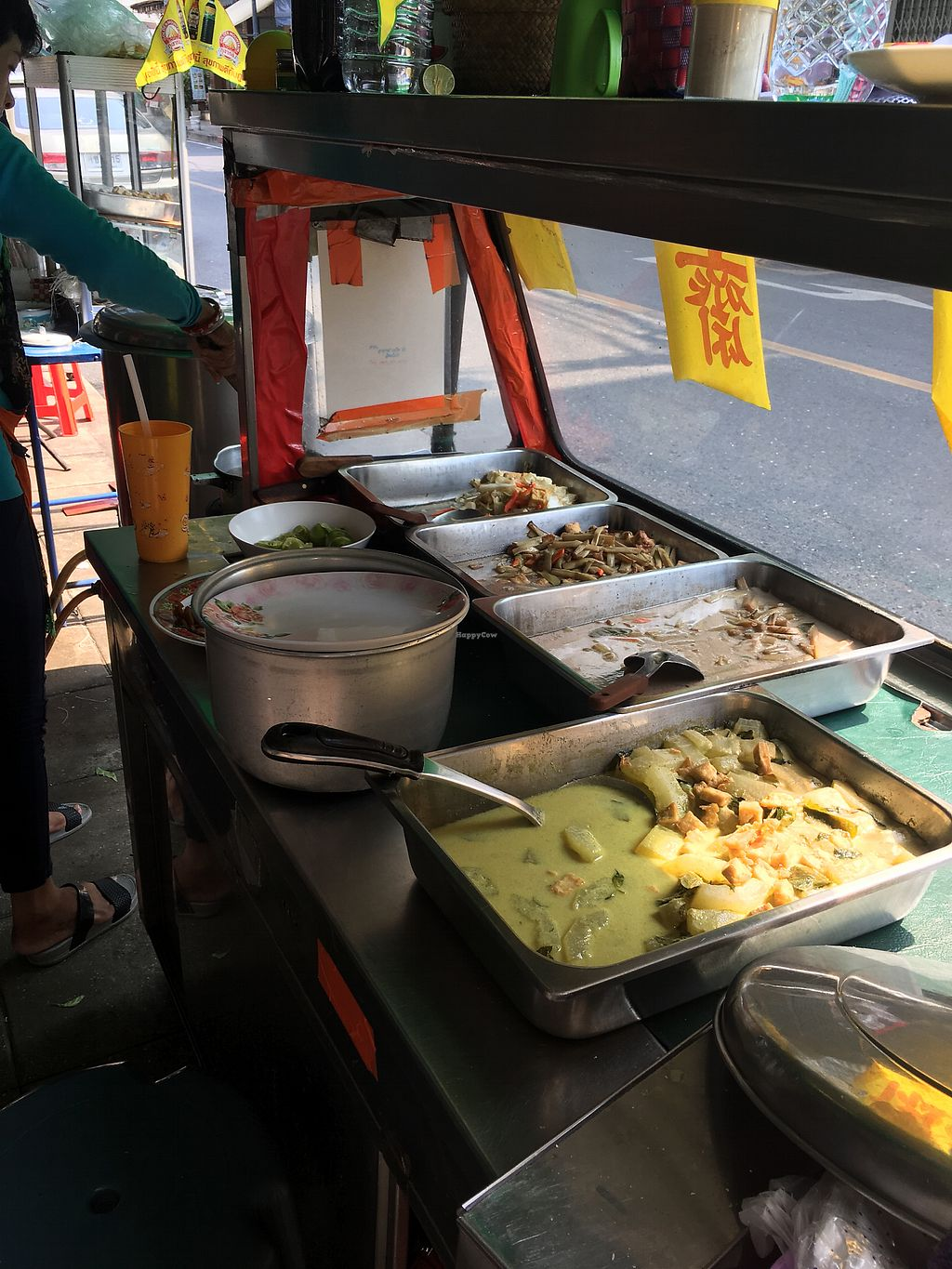 """Photo of Pan Road - Vegan Food Cart  by <a href=""""/members/profile/anneclara"""">anneclara</a> <br/>Curry's  <br/> March 26, 2018  - <a href='/contact/abuse/image/88695/376249'>Report</a>"""