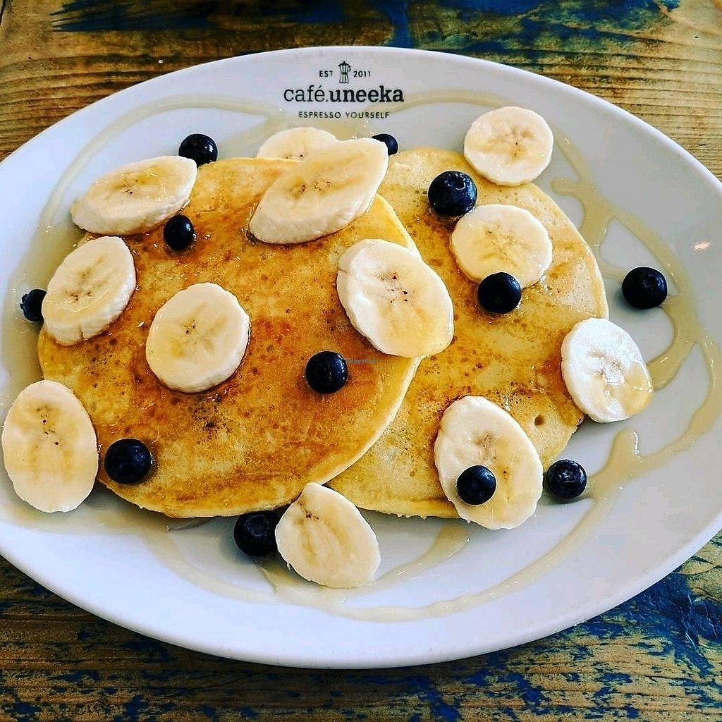 """Photo of Cafe Uneeka  by <a href=""""/members/profile/DawnBarstow"""">DawnBarstow</a> <br/>pancakes <br/> August 27, 2017  - <a href='/contact/abuse/image/88704/297788'>Report</a>"""
