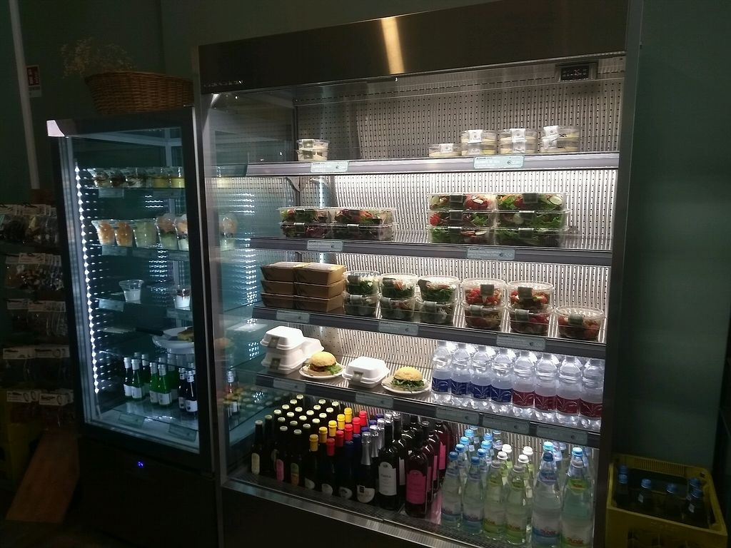 "Photo of La Granadilla  by <a href=""/members/profile/thenaturalfusions"">thenaturalfusions</a> <br/>fridge with vegetarian and vegan food items <br/> September 5, 2017  - <a href='/contact/abuse/image/88722/301147'>Report</a>"