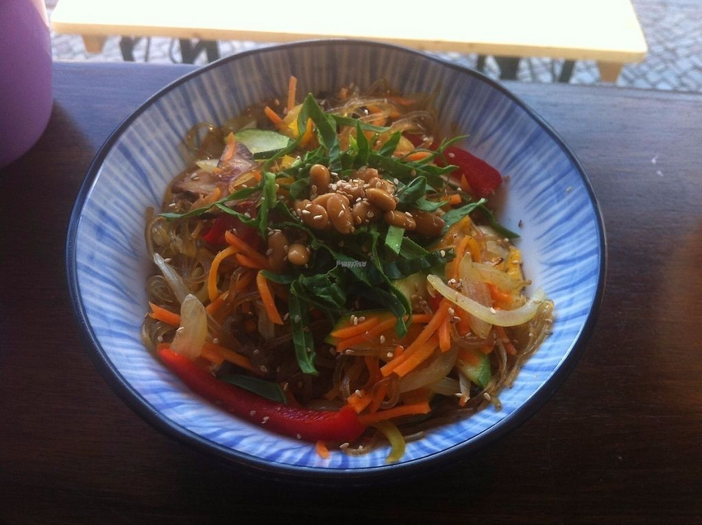 """Photo of Bada  by <a href=""""/members/profile/J-Veg"""">J-Veg</a> <br/>Sweet potato noodles with veggies and shiitake <br/> March 15, 2017  - <a href='/contact/abuse/image/88731/236891'>Report</a>"""