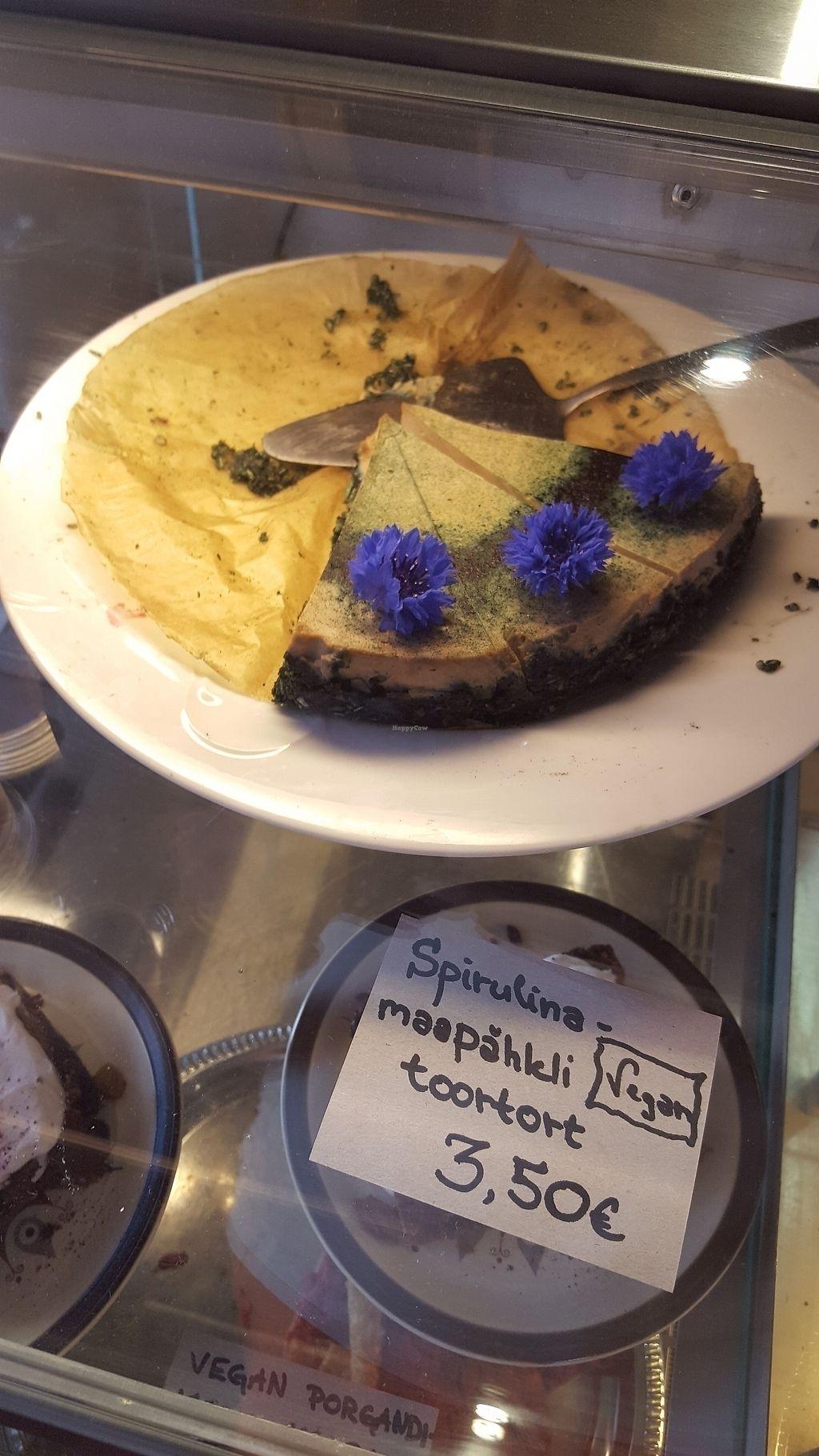 "Photo of Beguta Taimetoidukohvik  by <a href=""/members/profile/GuruYoga"">GuruYoga</a> <br/>home made cakes <br/> July 23, 2017  - <a href='/contact/abuse/image/88751/283645'>Report</a>"