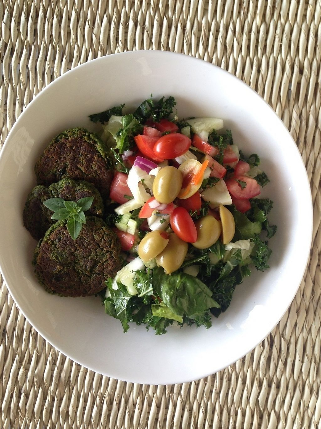 """Photo of Grunzeug Veggie Bistro  by <a href=""""/members/profile/Marijo"""">Marijo</a> <br/>Very creative Salads <br/> March 17, 2017  - <a href='/contact/abuse/image/88762/237604'>Report</a>"""