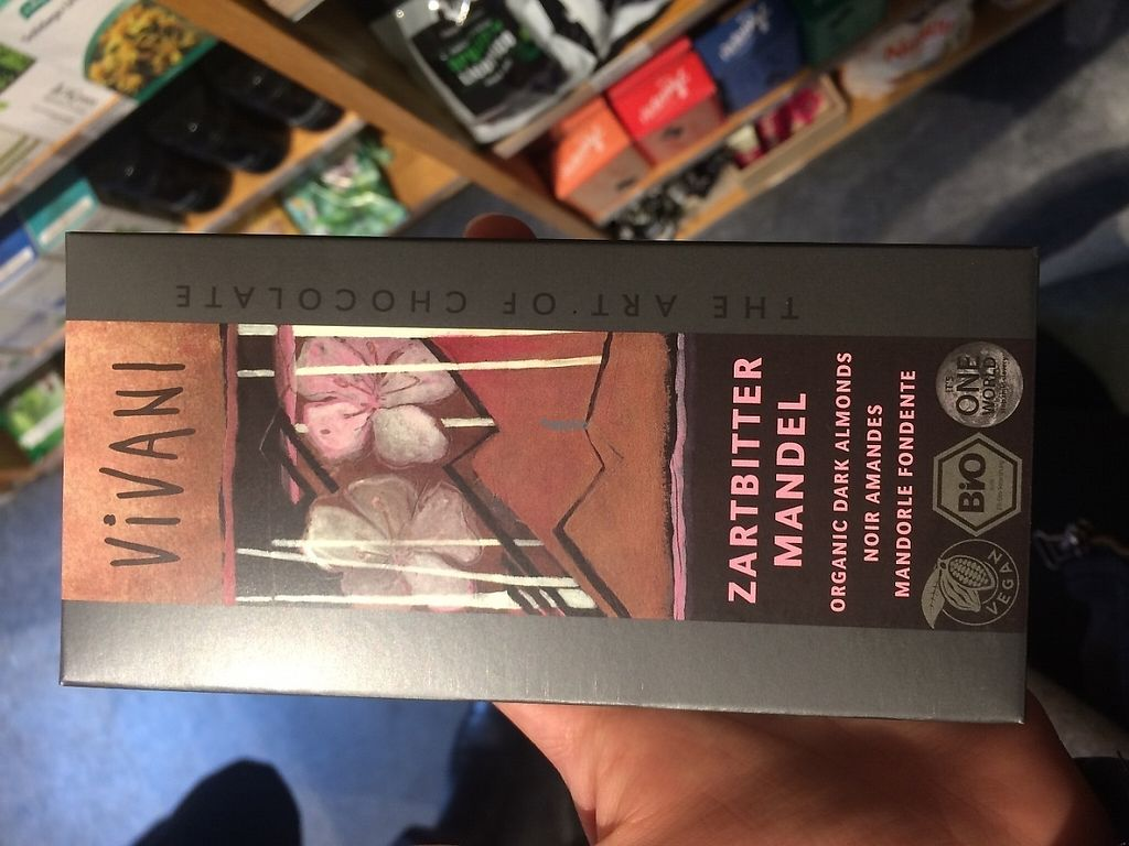 """Photo of Nava Helsemarked  by <a href=""""/members/profile/JohanneJeppesen"""">JohanneJeppesen</a> <br/>Some of the products in the store - here is vegan chocolate <br/> March 16, 2017  - <a href='/contact/abuse/image/88767/237144'>Report</a>"""