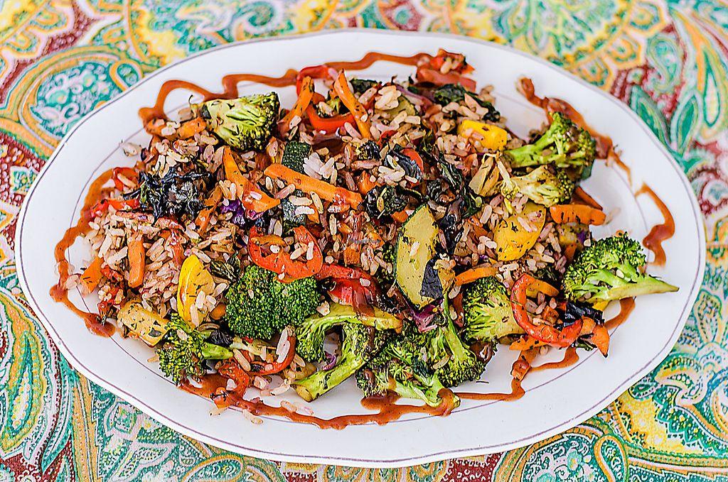 """Photo of Govinda's  by <a href=""""/members/profile/RestauranteGovindas"""">RestauranteGovindas</a> <br/>Delicioso arroz gouranga.  La perfecta combinación entre vegetales salteados, arroz y salsa de la casa. Really tasty <br/> November 23, 2017  - <a href='/contact/abuse/image/88768/328540'>Report</a>"""