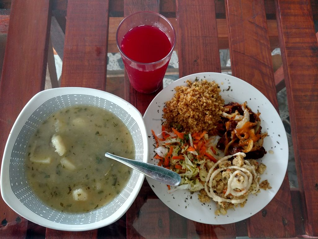 """Photo of Govinda's  by <a href=""""/members/profile/PatWitt"""">PatWitt</a> <br/>Meal of the day was fabulous! <br/> March 23, 2018  - <a href='/contact/abuse/image/88768/374947'>Report</a>"""