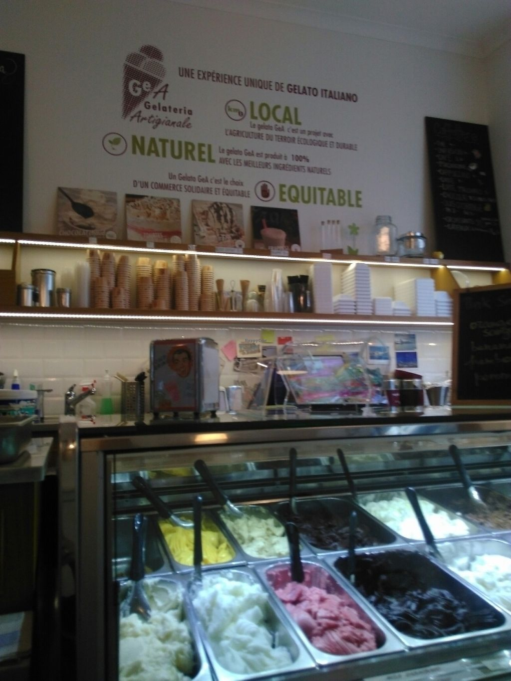 "Photo of GeA Gelateria Artigianale  by <a href=""/members/profile/Cathy8294"">Cathy8294</a> <br/>#glaces vegan délicieuses <br/> May 6, 2017  - <a href='/contact/abuse/image/88769/256200'>Report</a>"