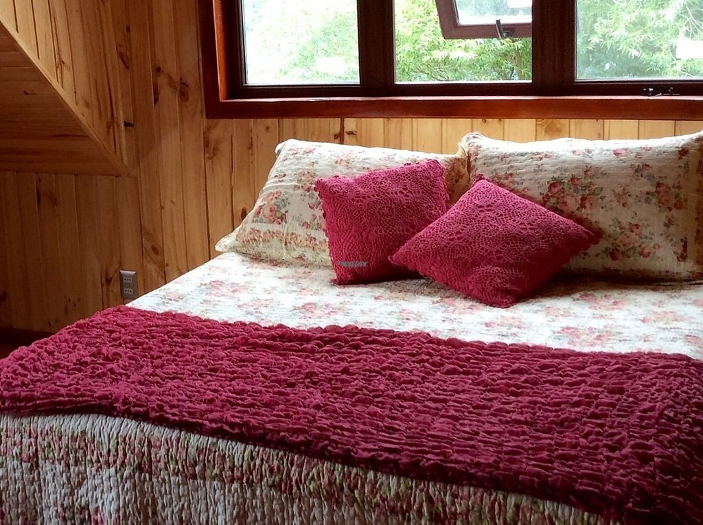 """Photo of Refugio Lodge  by <a href=""""/members/profile/KristenWhiting"""">KristenWhiting</a> <br/>Las Rosas / the red room.  Queen bed and a trundle bed which sleeps two more people.  Full private bath <br/> April 27, 2017  - <a href='/contact/abuse/image/88774/253186'>Report</a>"""
