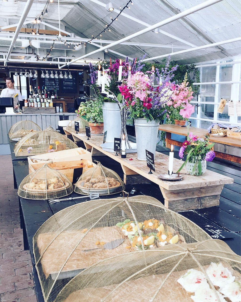 """Photo of Rosendals Tradgardskafe  by <a href=""""/members/profile/Evgenia"""">Evgenia</a> <br/>a cafe inside <br/> September 2, 2017  - <a href='/contact/abuse/image/88793/300058'>Report</a>"""