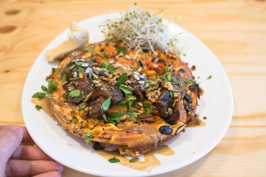 "Photo of EGG - Kanavaranta  by <a href=""/members/profile/Sten"">Sten</a> <br/>If you have never tried a vegan omelette. Maybe you should do that. Packed with nutrition and super delicious!