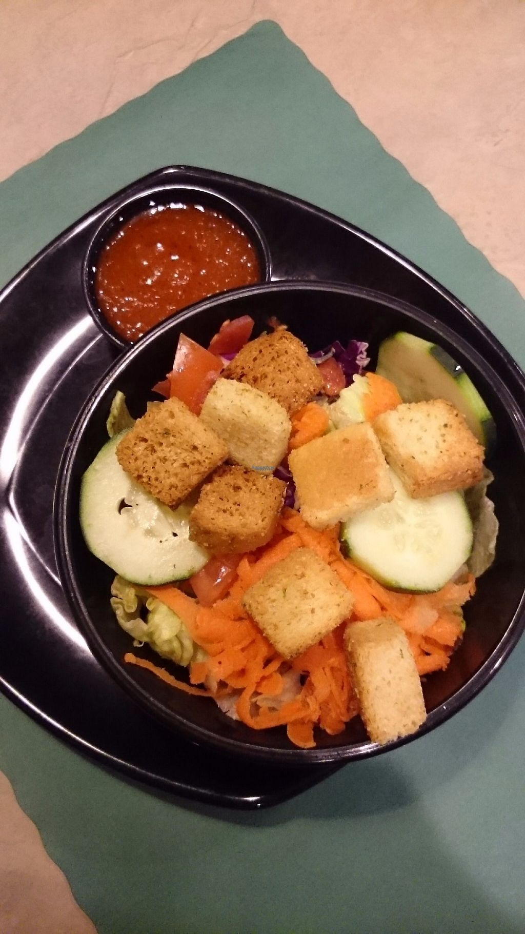 """Photo of Franconia Heritage Restaurant  by <a href=""""/members/profile/ZoraySpielvogel"""">ZoraySpielvogel</a> <br/>Salad with house sweet celery dressing.  <br/> March 17, 2017  - <a href='/contact/abuse/image/88823/237662'>Report</a>"""