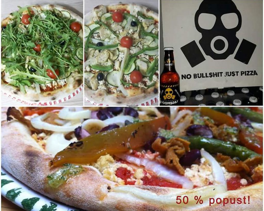 """Photo of Pizzeria Doomsday  by <a href=""""/members/profile/Lynn555"""">Lynn555</a> <br/>Vegan pizza options + homemade beer <br/> March 18, 2017  - <a href='/contact/abuse/image/88841/238145'>Report</a>"""