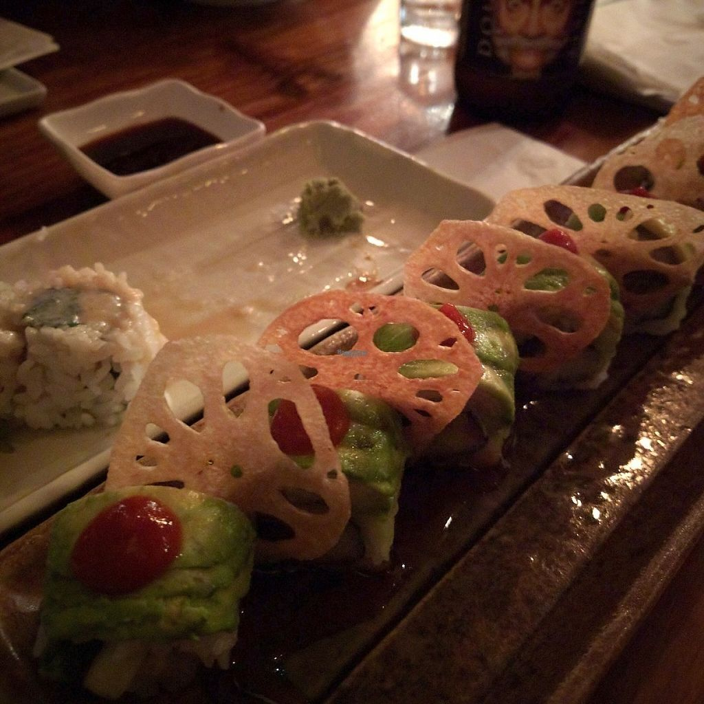 """Photo of Wasabi  by <a href=""""/members/profile/makemenervous"""">makemenervous</a> <br/>Hot Yogi Vegan Roll <br/> March 18, 2017  - <a href='/contact/abuse/image/88874/238059'>Report</a>"""