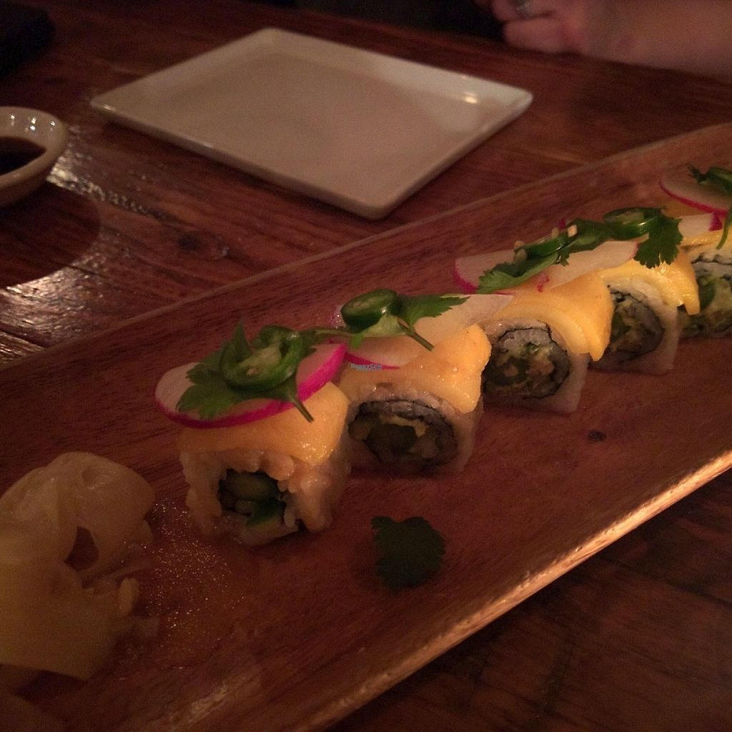 """Photo of Wasabi  by <a href=""""/members/profile/makemenervous"""">makemenervous</a> <br/>Vegan Ceviche Maki <br/> March 18, 2017  - <a href='/contact/abuse/image/88874/238060'>Report</a>"""