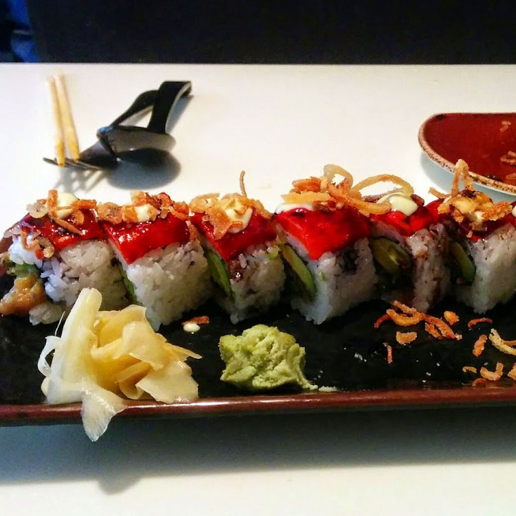 """Photo of Slurping Turtle  by <a href=""""/members/profile/makemenervous"""">makemenervous</a> <br/>Vegetarian Sushi (no mayo=vegan) <br/> March 22, 2017  - <a href='/contact/abuse/image/88876/239543'>Report</a>"""