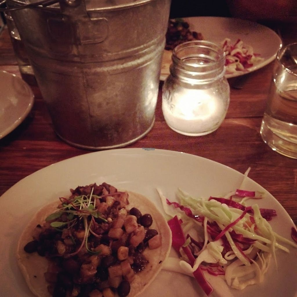 """Photo of CLOSED: The General  by <a href=""""/members/profile/makemenervous"""">makemenervous</a> <br/>Vegan Taco & Slaw <br/> March 22, 2017  - <a href='/contact/abuse/image/88877/239556'>Report</a>"""