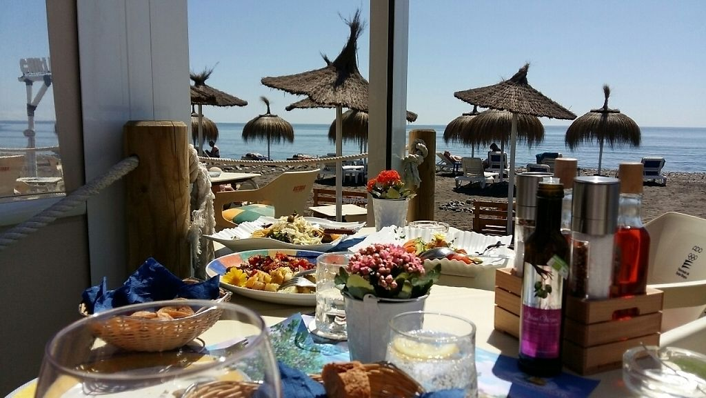 "Photo of Chiki Beach Club  by <a href=""/members/profile/Deligin"">Deligin</a> <br/>A perfect lunch on the beach ! <br/> March 29, 2017  - <a href='/contact/abuse/image/88880/242297'>Report</a>"