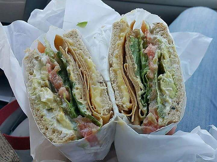 """Photo of Mission Square Market Vegan Deli  by <a href=""""/members/profile/MillyMoo"""">MillyMoo</a> <br/>Vegan Deli Sandwich <br/> April 21, 2018  - <a href='/contact/abuse/image/88946/388823'>Report</a>"""