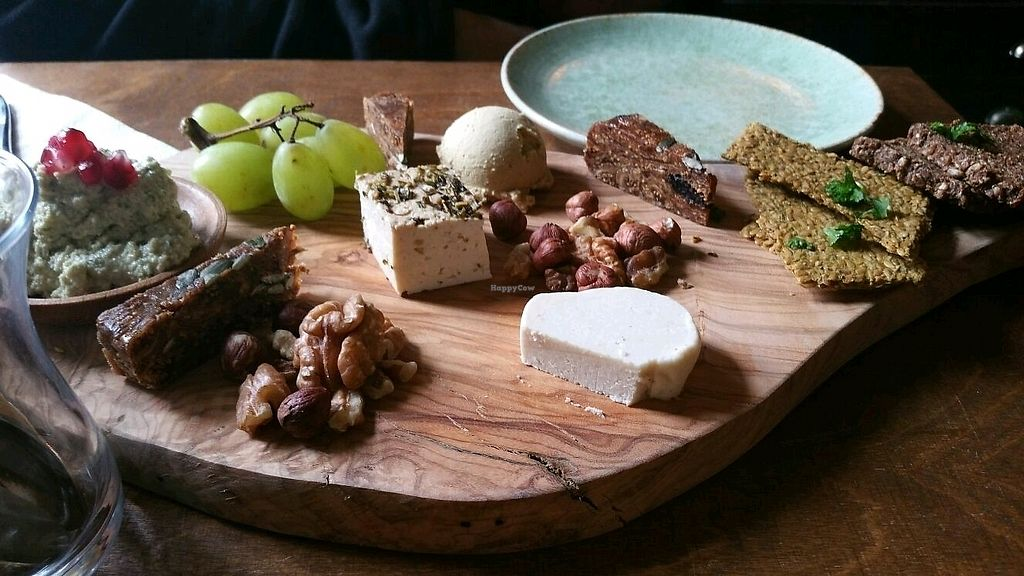 """Photo of Oerwoud  by <a href=""""/members/profile/mostlyvegan75"""">mostlyvegan75</a> <br/>Cheese platter <br/> March 23, 2018  - <a href='/contact/abuse/image/88965/374977'>Report</a>"""