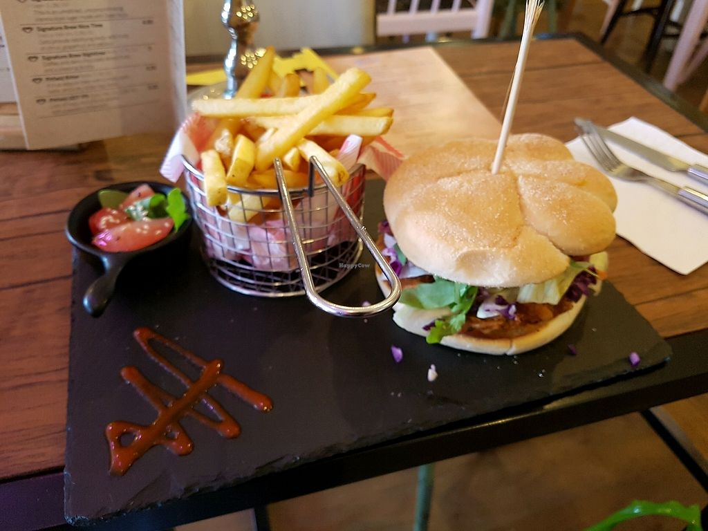 """Photo of CLOSED: The Sound Lounge  by <a href=""""/members/profile/Shannon.Bushell"""">Shannon.Bushell</a> <br/>pulled 'pork' burger ❤️ <br/> October 3, 2017  - <a href='/contact/abuse/image/88969/311348'>Report</a>"""