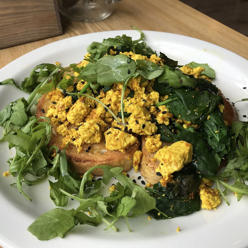 """Photo of CLOSED: The Sound Lounge  by <a href=""""/members/profile/kezia"""">kezia</a> <br/>Breakfast options- scrambled tofu ? <br/> October 23, 2017  - <a href='/contact/abuse/image/88969/317928'>Report</a>"""