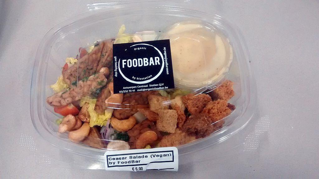 "Photo of Organic Foodbar  by <a href=""/members/profile/Ricardo"">Ricardo</a> <br/>Caesar Salad (vegan) <br/> December 22, 2017  - <a href='/contact/abuse/image/88982/338050'>Report</a>"
