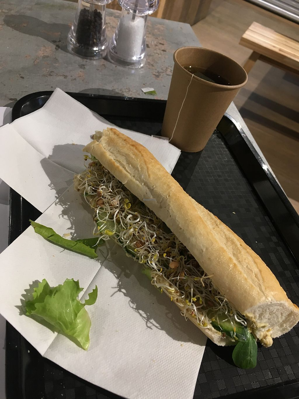 """Photo of Organic Foodbar  by <a href=""""/members/profile/CammK"""">CammK</a> <br/>Hummus sandwich <br/> March 3, 2018  - <a href='/contact/abuse/image/88982/366291'>Report</a>"""