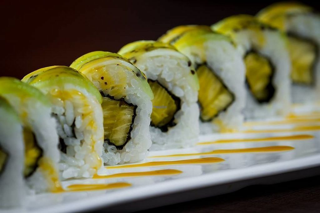 """Photo of Sushi Home  by <a href=""""/members/profile/community5"""">community5</a> <br/>Veggie sushi rolls <br/> March 22, 2017  - <a href='/contact/abuse/image/88983/239328'>Report</a>"""