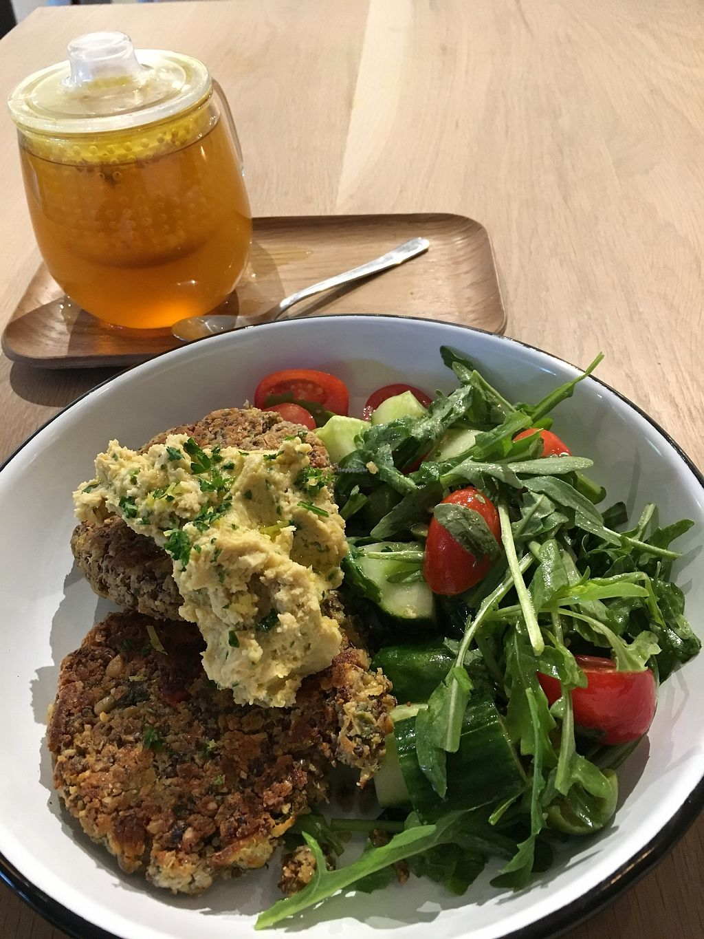 "Photo of Turf  by <a href=""/members/profile/vegan%20frog"">vegan frog</a> <br/>Quinoa bites and salad <br/> June 30, 2017  - <a href='/contact/abuse/image/88984/274996'>Report</a>"