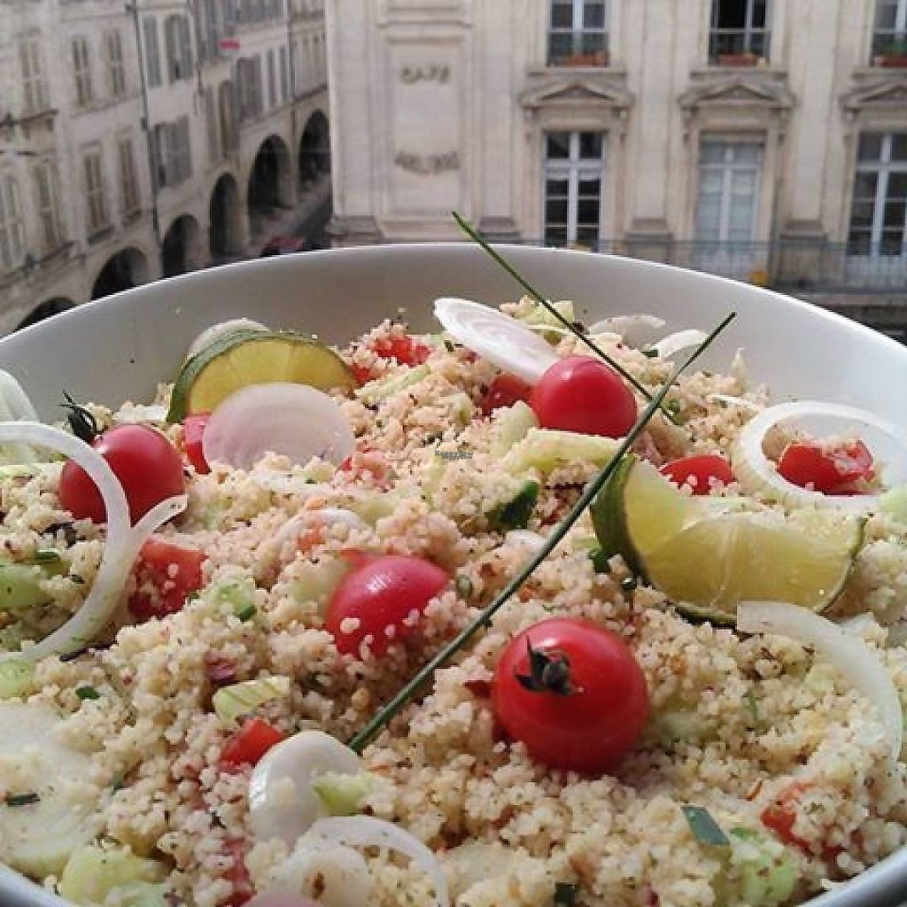 "Photo of Chez Ma Soeur  by <a href=""/members/profile/community5"">community5</a> <br/>Vegan summer tabbouleh <br/> March 20, 2017  - <a href='/contact/abuse/image/88986/238930'>Report</a>"