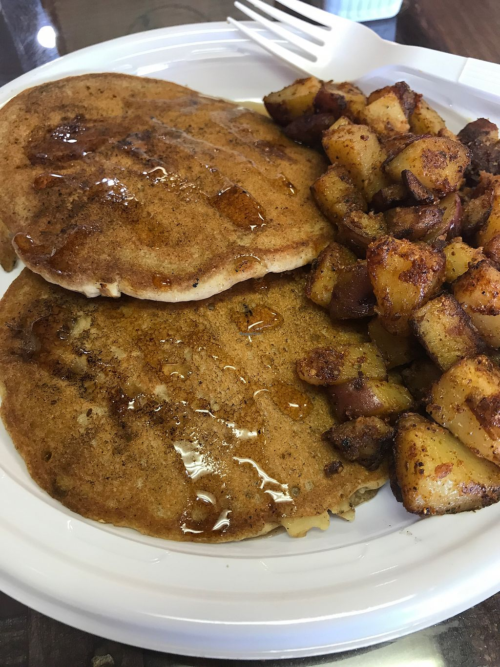 "Photo of CLOSED: Wet My Whistle  by <a href=""/members/profile/KerryElise"">KerryElise</a> <br/>sweet potato pancakes and home fries <br/> August 29, 2017  - <a href='/contact/abuse/image/88992/298675'>Report</a>"