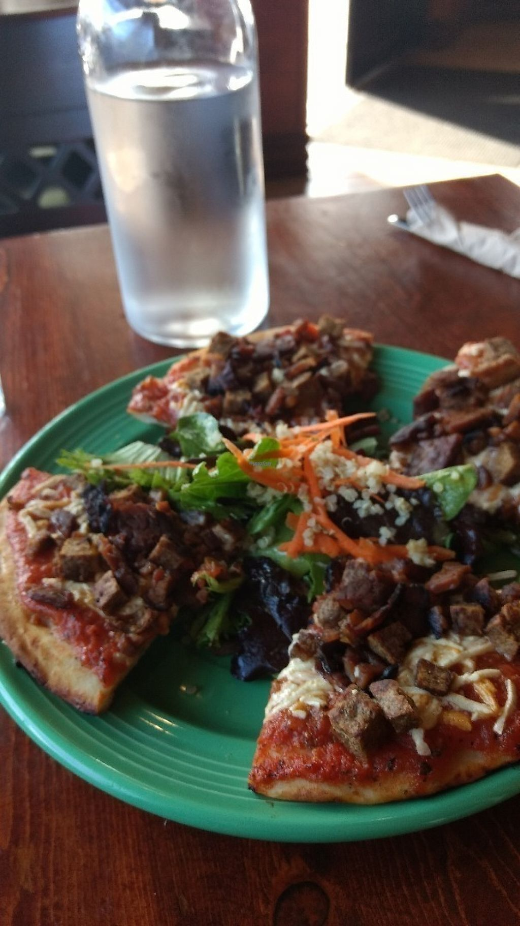 "Photo of The Grain Cafe  by <a href=""/members/profile/dreadjohn"">dreadjohn</a> <br/>Sausage pizza <br/> March 21, 2017  - <a href='/contact/abuse/image/89010/239256'>Report</a>"