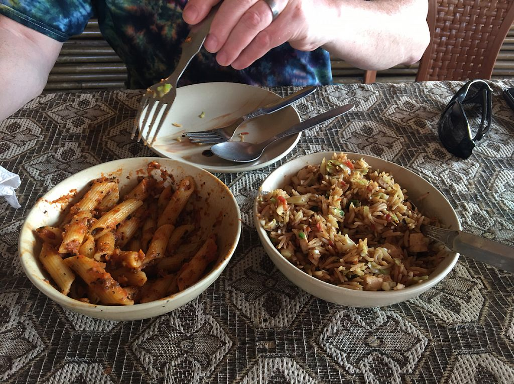 "Photo of Tip Top Restaurant  by <a href=""/members/profile/FranceskaLynne"">FranceskaLynne</a> <br/>penne arrabiata (L) and veggie tofu fried rice  <br/> March 23, 2017  - <a href='/contact/abuse/image/89011/239798'>Report</a>"