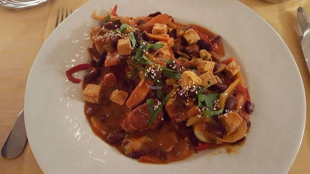 """Photo of Hotel de l'Europe  by <a href=""""/members/profile/sophiefp"""">sophiefp</a> <br/>tofu and bean curry <br/> April 16, 2017  - <a href='/contact/abuse/image/89041/249050'>Report</a>"""