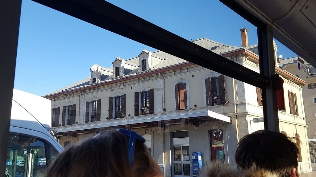 """Photo of Hotel de l'Europe  by <a href=""""/members/profile/sophiefp"""">sophiefp</a> <br/>train station at Briancon - sleepers from Paris to 30 mins bus ride from hotel <br/> April 16, 2017  - <a href='/contact/abuse/image/89041/249054'>Report</a>"""