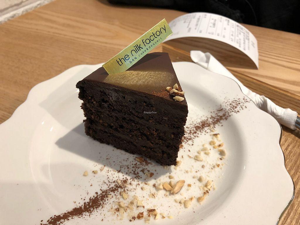 "Photo of The Nilk Factory - 더닐크팩토리  by <a href=""/members/profile/Knauji82"">Knauji82</a> <br/>Vegan avocado chocolate cake <br/> January 16, 2018  - <a href='/contact/abuse/image/89060/347186'>Report</a>"