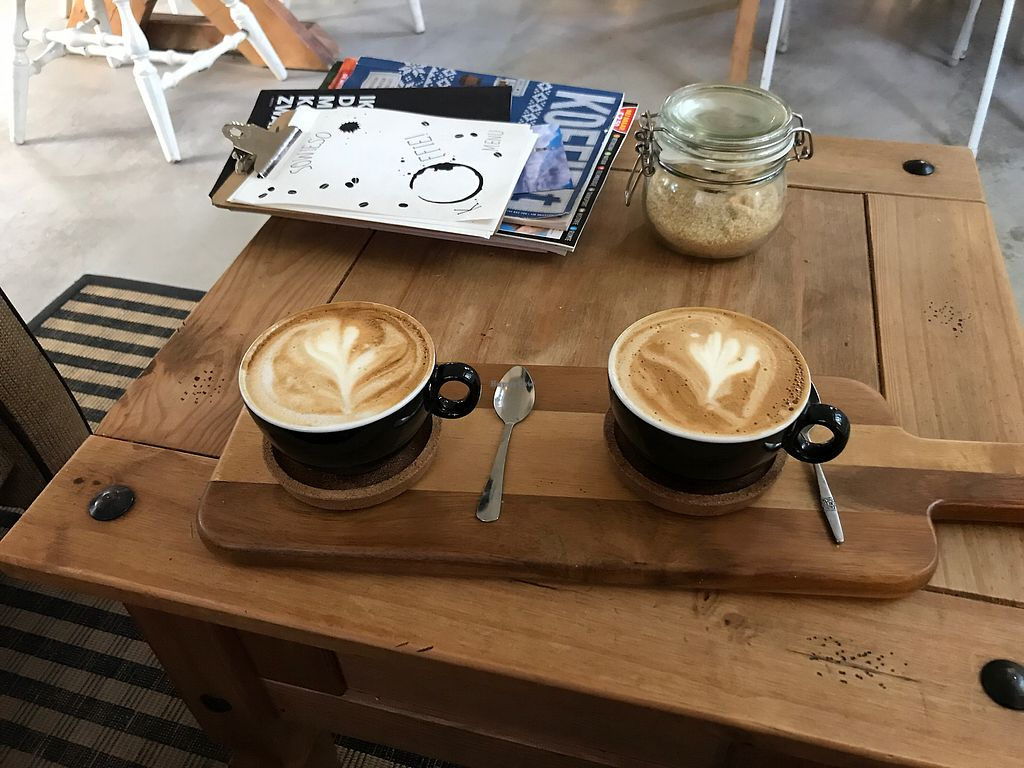 """Photo of Koffiebar Sowieso  by <a href=""""/members/profile/LolaNachtigall"""">LolaNachtigall</a> <br/>Perfect for coffee lovers <br/> October 12, 2017  - <a href='/contact/abuse/image/89076/314487'>Report</a>"""