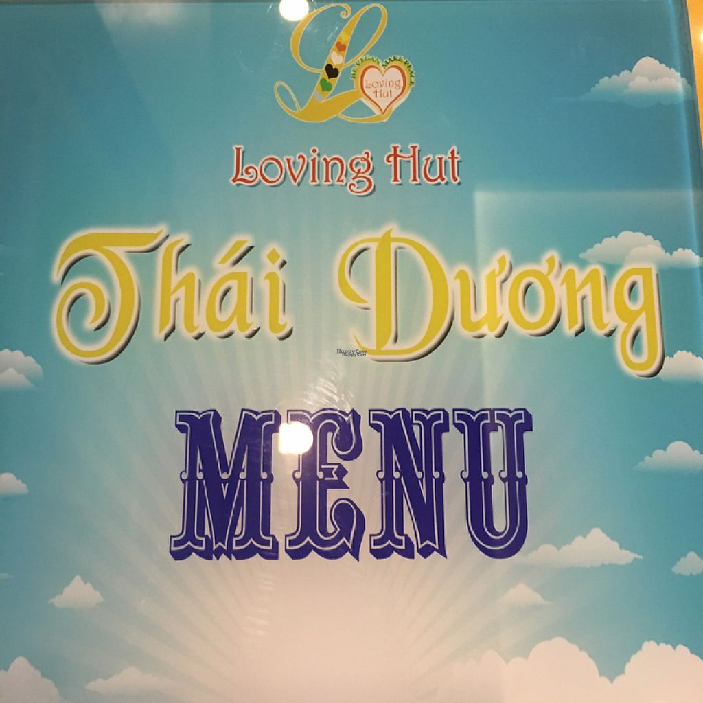 """Photo of Loving Hut Thai Duong  by <a href=""""/members/profile/Smulen"""">Smulen</a> <br/>Menu <br/> April 9, 2017  - <a href='/contact/abuse/image/89077/246260'>Report</a>"""