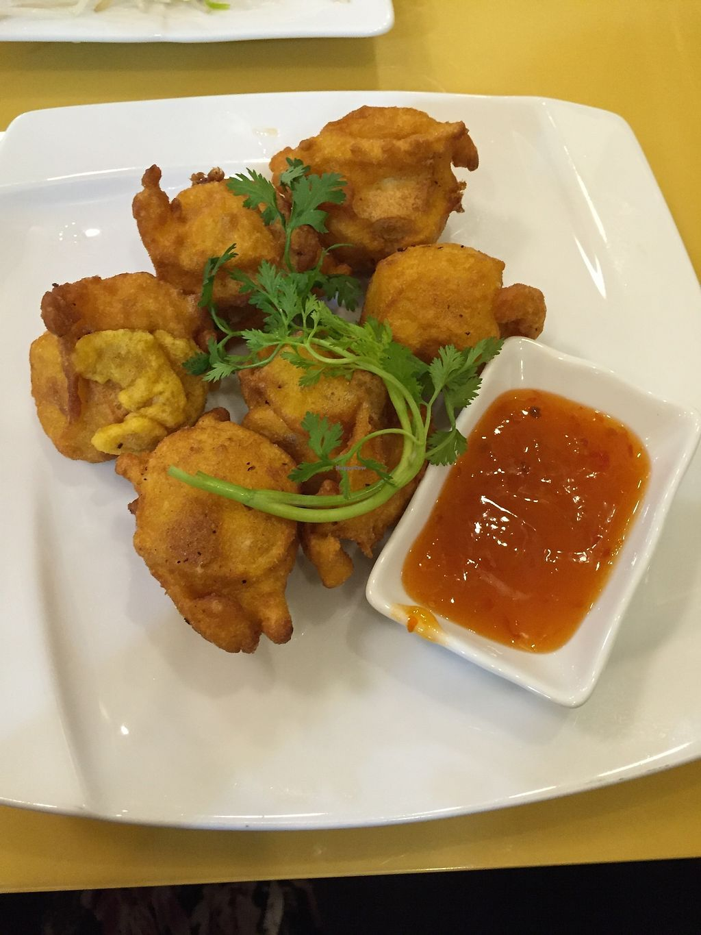 """Photo of Loving Hut Thai Duong  by <a href=""""/members/profile/pyuibd"""">pyuibd</a> <br/>Deep fried tofu <br/> December 28, 2017  - <a href='/contact/abuse/image/89077/340063'>Report</a>"""