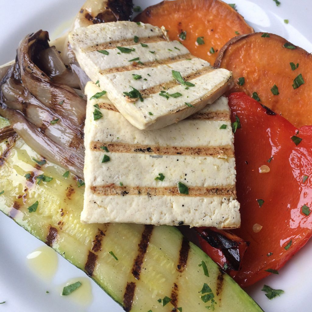 """Photo of Hosteria Moderna  by <a href=""""/members/profile/mlotto"""">mlotto</a> <br/>grilled tofu <br/> March 22, 2017  - <a href='/contact/abuse/image/89088/239511'>Report</a>"""