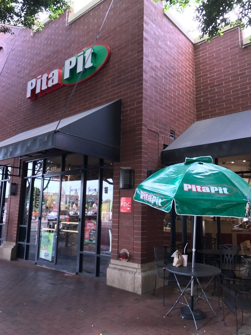 "Photo of Pita Pit  by <a href=""/members/profile/Tigra220"">Tigra220</a> <br/>Outside <br/> March 25, 2017  - <a href='/contact/abuse/image/89157/240638'>Report</a>"