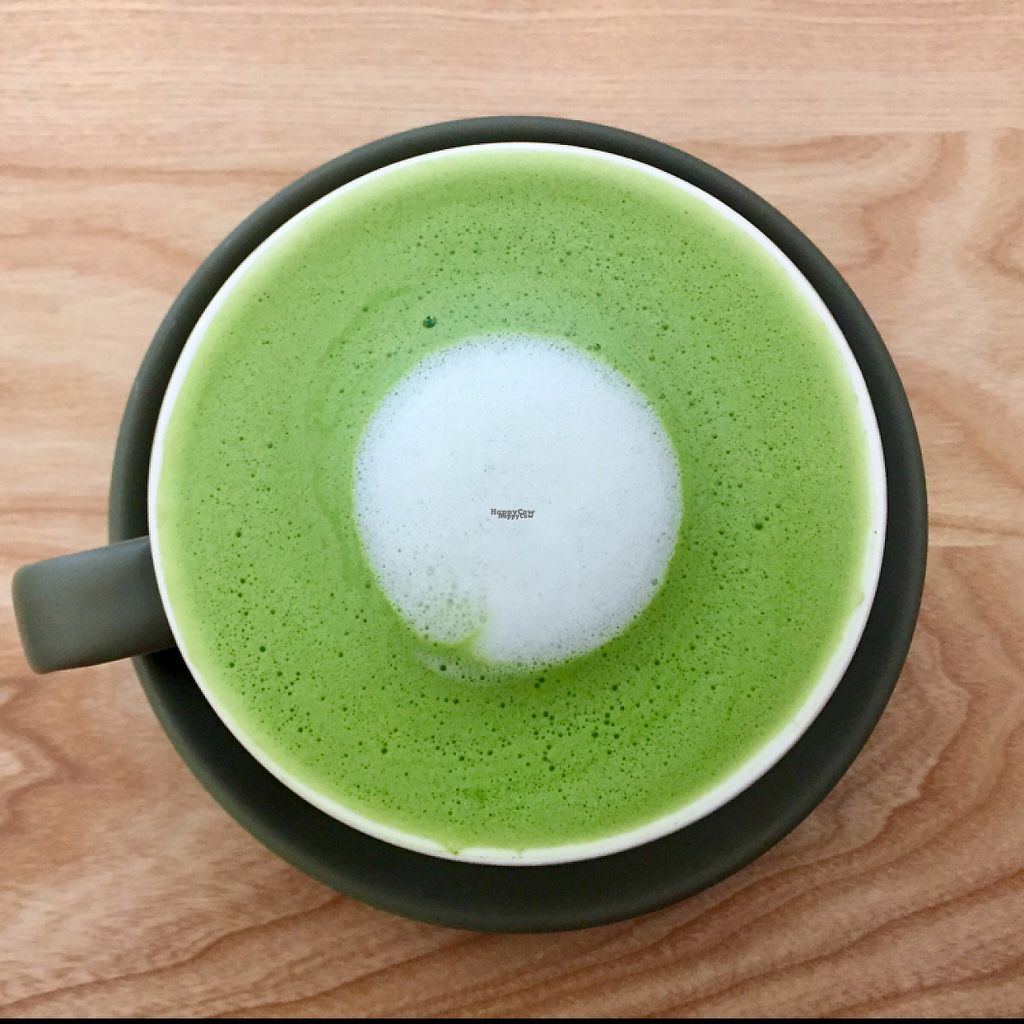 """Photo of Our Kitchen   by <a href=""""/members/profile/Bea_lc"""">Bea_lc</a> <br/>yum nut milk matcha latte <br/> April 5, 2017  - <a href='/contact/abuse/image/89167/245037'>Report</a>"""