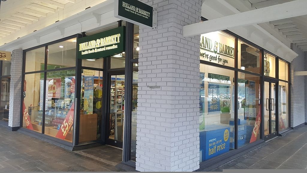 """Photo of Holland and Barrett  by <a href=""""/members/profile/Clare"""">Clare</a> <br/>Front <br/> March 23, 2017  - <a href='/contact/abuse/image/89176/240065'>Report</a>"""